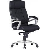 Офисное кресло руководителя Хорошие кресла George black