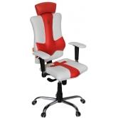 Кресло Kulik System Elegance (бело-красный)