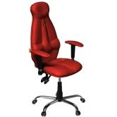 Кресло Kulik System Galaxy (красный)