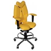 Детское кресло для школьника  Kulik System Fly (желтый)