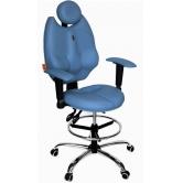 Детское кресло Kulik System TriO (голубой)