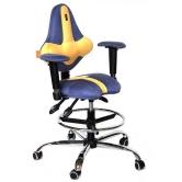 Детское кресло Kulik System Kids (сине-желтый)