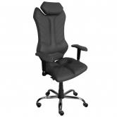Кресло Kulik System MONARCH (черный)