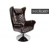 Офисное массажное кресло EGO Lord EG3002 Lux Шоколад