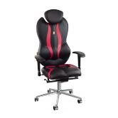 Кресло Kulik System Grande (черно-красный)