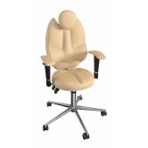 Детское кресло для школьника  Kulik System TriO (песочный)
