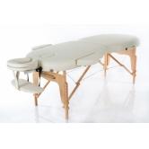 Складной массажный RESTPRO стол  VIP OVAL 2 cream