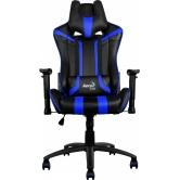 Кресло игровое Aerocool AC120-BB black/blue