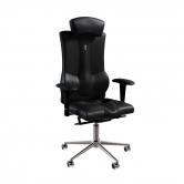 Кресло Kulik System Elegance с подголовником (черный)
