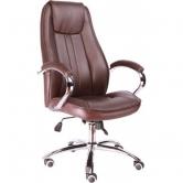 Офисное кресло EVERPROF LONG TM экокожа коричневый