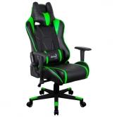 Кресло игровое Aerocool AC220-BG black/green
