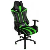 Кресло игровое Aerocool AC120-BG, black/green