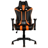 Кресло игровое Aerocool AC120 AIR-BO, black/orange