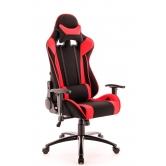 Кресло игровое Everprof Lotus S4 Ткань Черный/Красный
