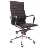 Офисное кресло EVERPROF Rio M натуральная кожа черный