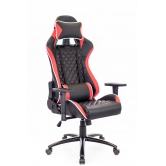 Кресло игровое Lotus Everprof S11 Экокожа Красный