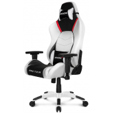 Кресло игровое AKRacing Arctica white/black