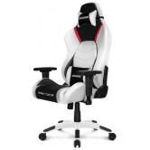Игровое кресло  AKRacing Arctica white-black