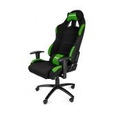 Кресло игровое AKRacing K7012 Black-green