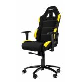 Кресло игровое AKRacing K7012, Black-yellow