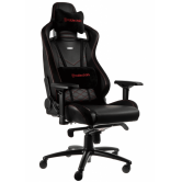 Кресло игровое Noblechairs EPIC (NBL-PU-RED-002), Black red