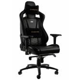 Кресло игровое Noblechairs EPIC (NBL-PU-GOL-002), Black gold