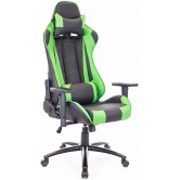 Кресло игровое Everprof Lotus S9 Экокожа Зеленый/Черный