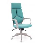 Офисное кресло EVERPROF  Trio Grey TM ткань бирюзовый