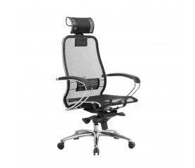 Офисное кресло Samurai S-2.04 с 3D подголовником (МЕТТА)