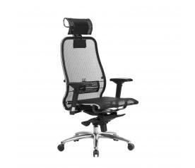Офисное кресло Samurai S-3.04 с 3D подголовником (МЕТТА)