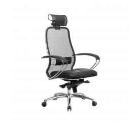 Офисное кресло Samurai SL-2.04 с 3D подголовником (МЕТТА)