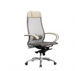 Кресло руководителя МЕТТА Samurai S-1.04 сетка бежевый