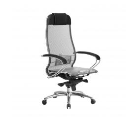 Кресло руководителя МЕТТА Samurai S-1.04 сетка серый