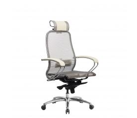 Кресло руководителя МЕТТА Samurai S-2.04 сетка бежевый