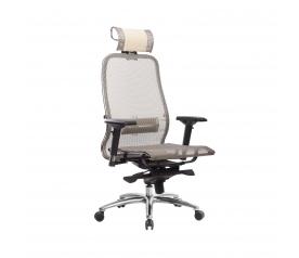 Кресло руководителя МЕТТА Samurai S-3.04 сетка бежевый