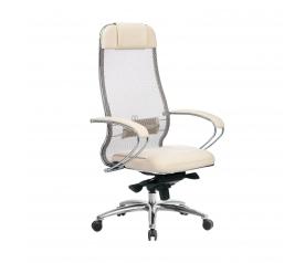 Кресло руководителя МЕТТА Samurai SL-1.04 бежевый
