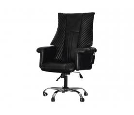 Офисное массажное кресло EGO President EG1005 антрацит