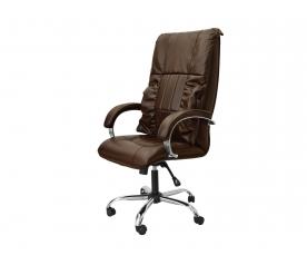 Офисное массажное кресло EGO BOSS EG1001 шоколад