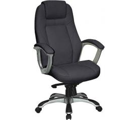 Офисное кресло Хорошие кресла Bruny black 250 кг.