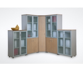 Мебель для офиса ЭргоYes  Шкафная группа