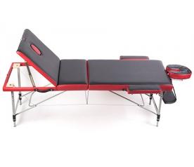 Складной Трёхсекционный алюминиевый массажный стол Casada  Malta (3А)