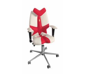 Детское кресло для школьника Kulik System Fly (бело-красный)
