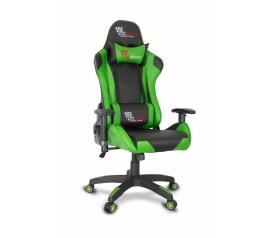 Кресло геймерское College CLG-801LXH Green
