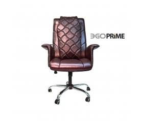 Офисное массажное кресло EGO PRIME EG1003  в комплектации ELITE (натуральная кожа)