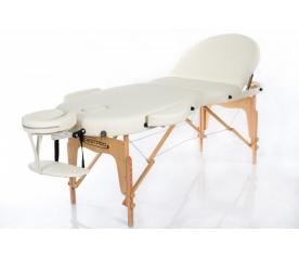 Складной массажный стол RESTPRO VIP OVAL 3 Cream