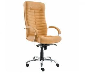Офисное кресло руководителя Орион Хром (Россия)