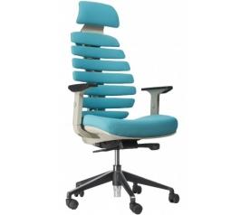 Офисное кресло EVERPROF ERGO grey ткань бирюзовый
