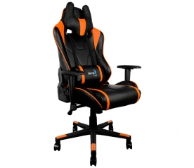 Кресло игровое Aerocool AC220-BО black/orange