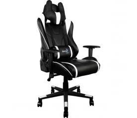 Кресло игровое Aerocool AC220-BW black/white
