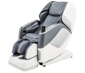 Массажное кресло Casada AURA серо-белое